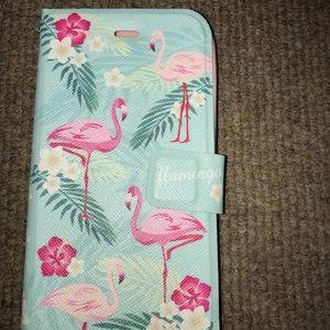 Accessories - wallet flamingo iphone 6/7/8 case